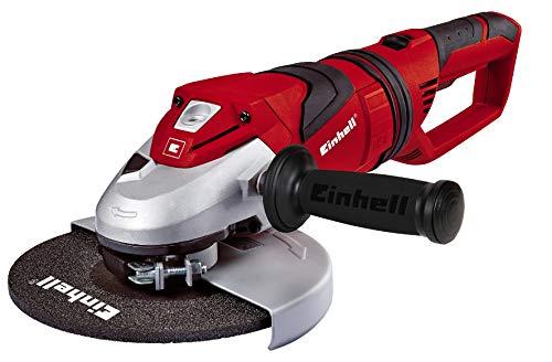 Einhell Winkelschleifer TE-AG 230 (2350 W, Scheiben-Ø 230 mm, Softstart, drehbarer Handgriff, Anti-Vibration, ohne Trennscheibe)