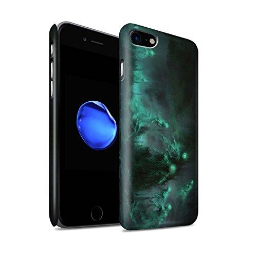 Offiziell Chris Cold Hülle / Matte Snap-On Case für Apple iPhone 7 / Schatten Ritter Muster / Unterwelt Kollektion Hades/Phantom