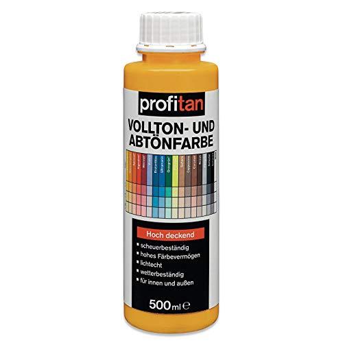 ROLLER profitan Vollton- und Abtönfarbe - melonengelb - 500 ml