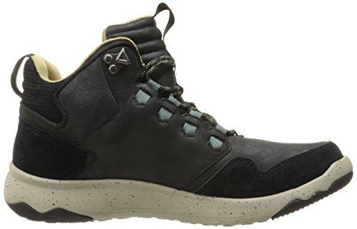 Teva Arrowood Lux Mid Wp M's, Chaussures d'Athlétisme Homme Noir (Black)