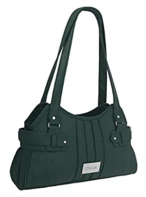 EyeCatchBags - Athens Damen Handtasche aus Kunstleder Dark Teal