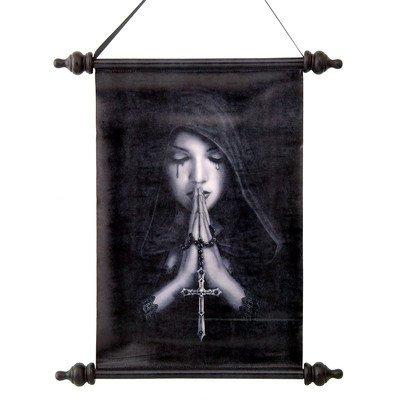 Design Toscano Gotisches Gebet, Rollwandbehang