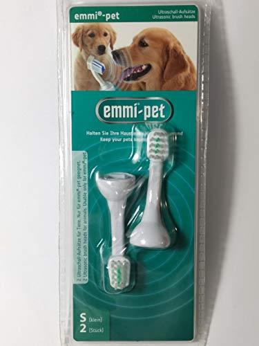 Emmi-Pet Ultraschallborstenaufsätze (2 kleine Bürstenköpfe)