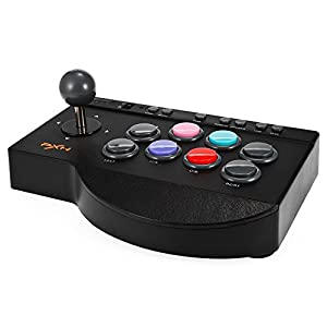 Arcade Stick, MoPei PXN Arcade Fightstick Game Controller Joystick für PS3 / PS4 / Xbox One / PC Fighting Game
