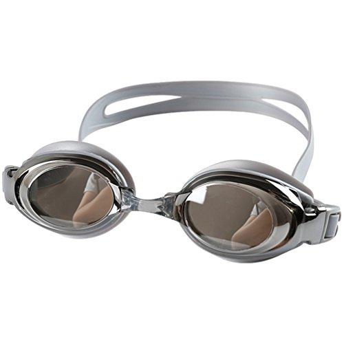 CHENGYANG Schwimmen Brillen, Schwimmbrille Anti-Fog UV-Schutz beschichteter Linse kein Auslaufen Fall für Männer Frauen Erwachsene Youth Grau # 3