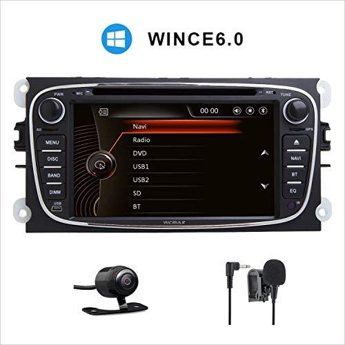 Pantalla táctil capacitiva digital HD de 7 pulgadas para coche, estéreo, DAB+,...