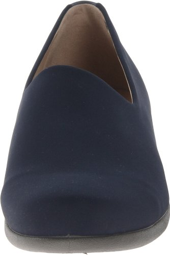 Ecco - Abelone Textile, Mocassini da donna Blu (Blue (Marine))