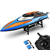 E T RC Boot Ferngesteuertes Boot 2,4GHz 20MPH High Speed Boot mit Kapsel
