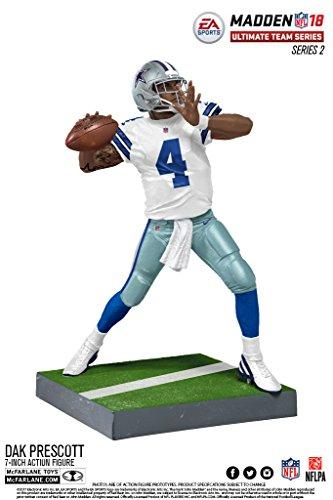 buy popular db423 b5c20 McFarlane NFL Madden 18 Ultimate Team Series 2 DAK PRESCOTT #4 - Dallas  Cowboys Figur