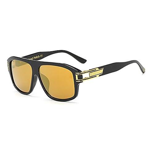 Mode Sport mit großem Rahmen und Sonnenbrillen Marken-Designer-Beschichtung (Hip Hop Mode Sonnenbrillen)