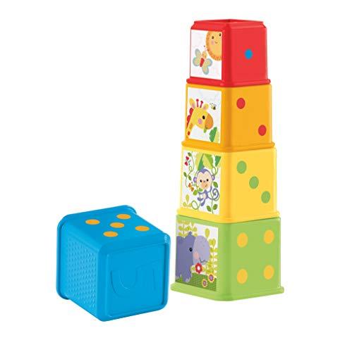 Fisher-Price Cubes Découvertes, jouet pour bébé à...