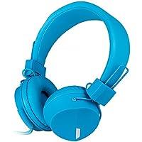 RockPapa Sulle Orecchie Regolabili Raggruppabili Stereo cuffie con microfono per