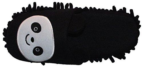 HomeTop , Chaussons pour femme Marron marron 38 Black/White Panda