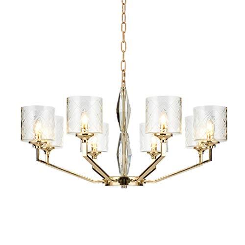 Shirley Home Einfache europäische deckenbeleuchtung persönlichkeit kreative leuchte kristall Glas pendelleuchte Schlafzimmer Restaurant hängen Lampe Innenbeleuchtung Deckenbeleuchtung -