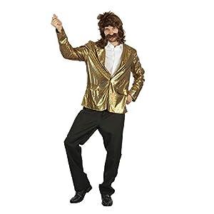Bristol Novelty AF090 - Chaqueta de discoteca, talla única, color dorado