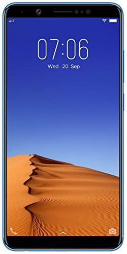 Vivo V7+ (Energetic Blue, Fullview Display) with Offers