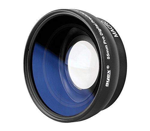 Ayex Weitwinkel-Konverter 0,45x Multi Coated Weitwinkel-Vorsatzlinse für 55mm Anschlussgewinde