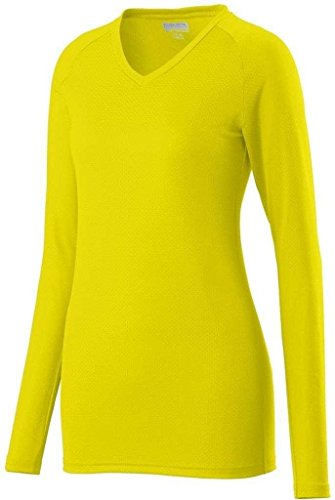 Augusta Sportswear Womens Assist jersey Power Yellow