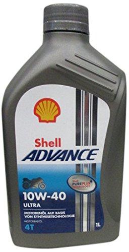 Shell Advance Ultra 4T 10W -40, - Motorrad Shell öl