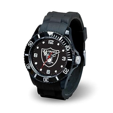 Oakland Raiders Herren Armbanduhr Sport–Spirit