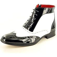 83c1a6a2dc98c Amazon.es  zapatos gangster - Negro