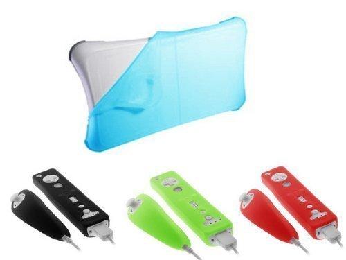 ishoppingdeals- Premium Blau Durable Soft Silikon Haut Cover Case für Ninten. Fishbone Case Cover