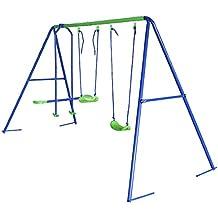 HLC® 3 en 1 el triple Columpio infantil Con balancín Nuevo Modelo! Con más capacidad y seguridad! Ideal regalo para los