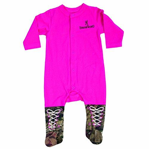 Mo Onesies (Browning-Pyjama bébé Fuchsia)