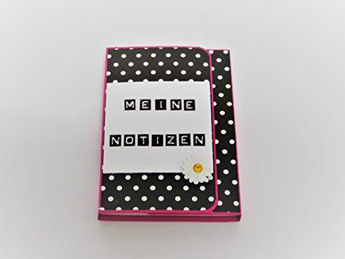 Kleines Notizbuch für die Handtasche/Notizblock / Kellnerblock/Handmade / Handarbeit