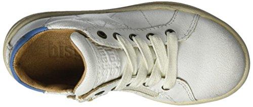 Bisgaard - Schnürschuhe, Scarpe da ginnastica Unisex – Bambini Weiß (3002-2 White)