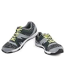 c9d956f1f9c1 Reebok Men s Grey Gravel Running Shoes - 10 UK India (44.5 EU)