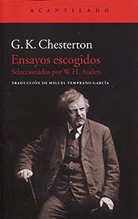 Ensayos escogidos par G.K. Chesterton