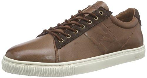 Napapijri King, Sneakers basses homme Marron - Braun (smoke brown N43)
