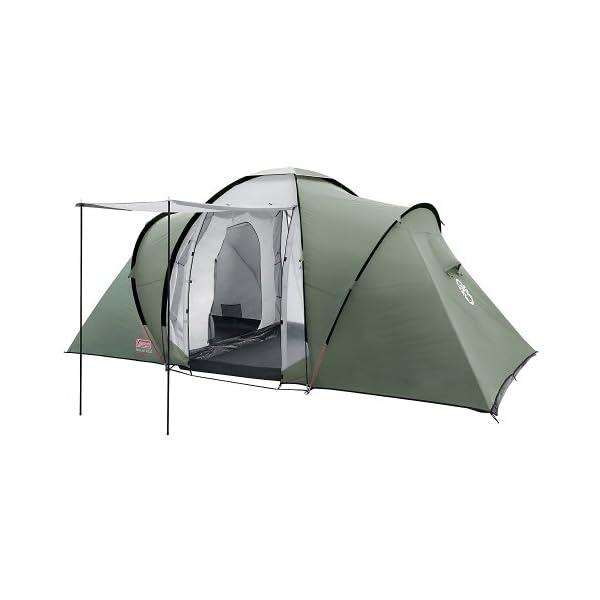 Coleman Ridgline Tent, Green/Grey, 4 Plus 1