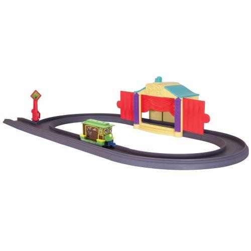 Chuggington Die Cast - LC54215 - Véhicule Miniature et Circuit - Le Tour de Magie de Zephie