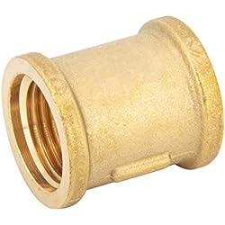 """Manchon en laiton raccord Fitting, adaptateur ou filetage pour l'industrie, commerce, ménage, 3/4"""", 1"""