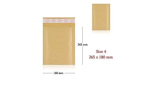 Mail Lite 100 X Size D1 180mm x 260mm Bubble Lined Envelopes White