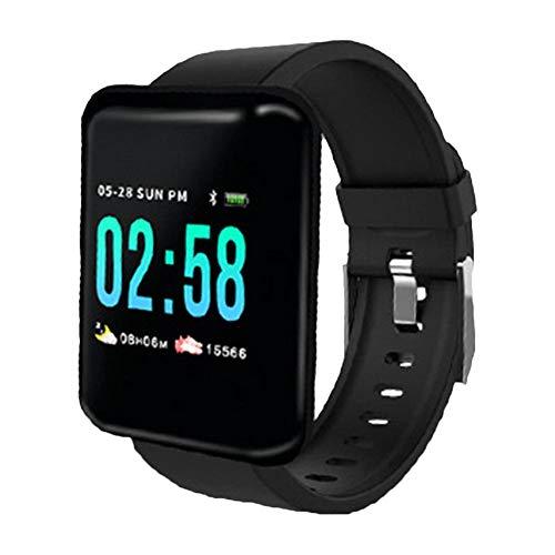 Preisvergleich Produktbild Miss-an Fitness Armband,  Smartwatch Wasserdicht Smart Watch Sport Uhr, Schrittzähler Uhr, Stoppuhr für Herren Damen Vibrationsalarm Anruf SMS Geeignet für iPhone Android Handy