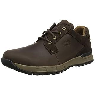 camel active Herren Orbit 17 Sneaker, Braun (Mocca), 44 EU