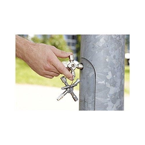 Knipex 00 11 01 TwinKey – für Schaltschränke, Fenster und Absperrsysteme - 12