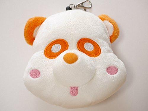 AAA Eh Panda reel pouch reel with face porch Takahiro Nishijima orange orange -