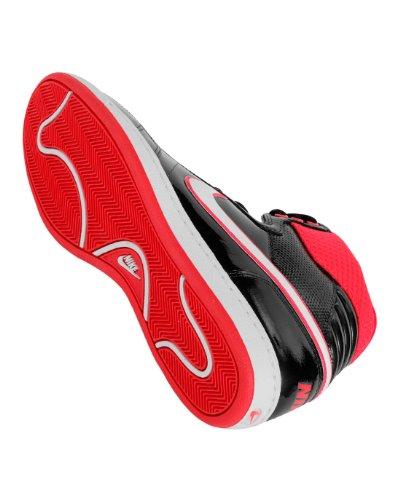 Sneaker wmns nike double team lthi Black/White/Red fluo
