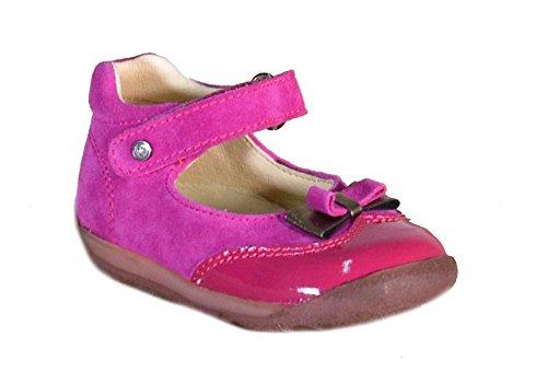 Falcotto - Falcotto Ballerine Bambina Fuxia Pelle Strappi 1129 - Fuxia, 21