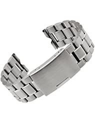 Creation® Pulsera Correa del metal del acero inoxidable nueva banda de reloj para Motorola Moto 360+ Herramientas (plata)