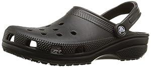 Crocs Classic Unisex Clogs Schwarz (Black 001), 42-43 EU
