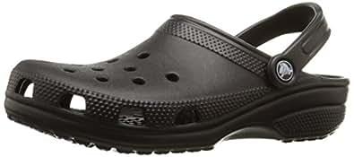 New Unisex Black Crocs Sandals Easy Clean & Lightweight - Black - UK SIZE 10