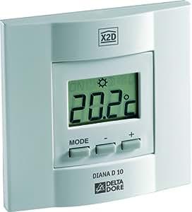 Delta Dore DEL6151049 Thermostat radio Diana D10