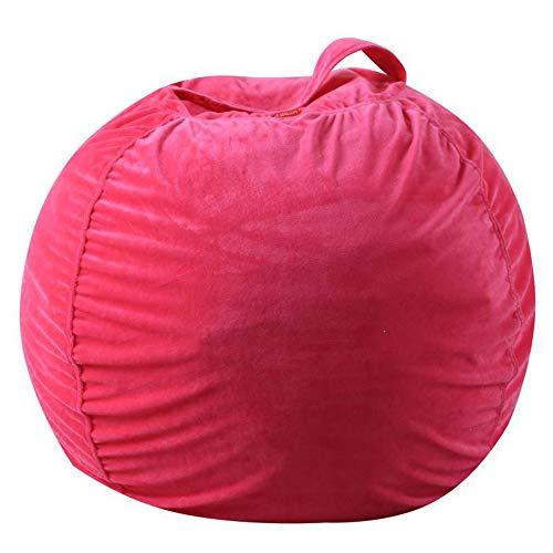 Kinder-Plüschtier-Aufbewahrungstasche, Super-Soft-Plüsch-Sitzsack, Storagebeanbag, neue...