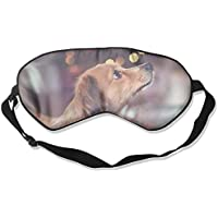 Eye Mask Eyeshade Brown Dog Sleep Mask Blindfold Eyepatch Adjustable Head Strap preisvergleich bei billige-tabletten.eu