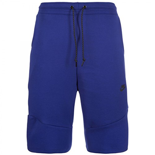 Nike Tech kurze Hose für Herren aus Fleece 2.0 S Azul (Deep Royal Blue/Black)